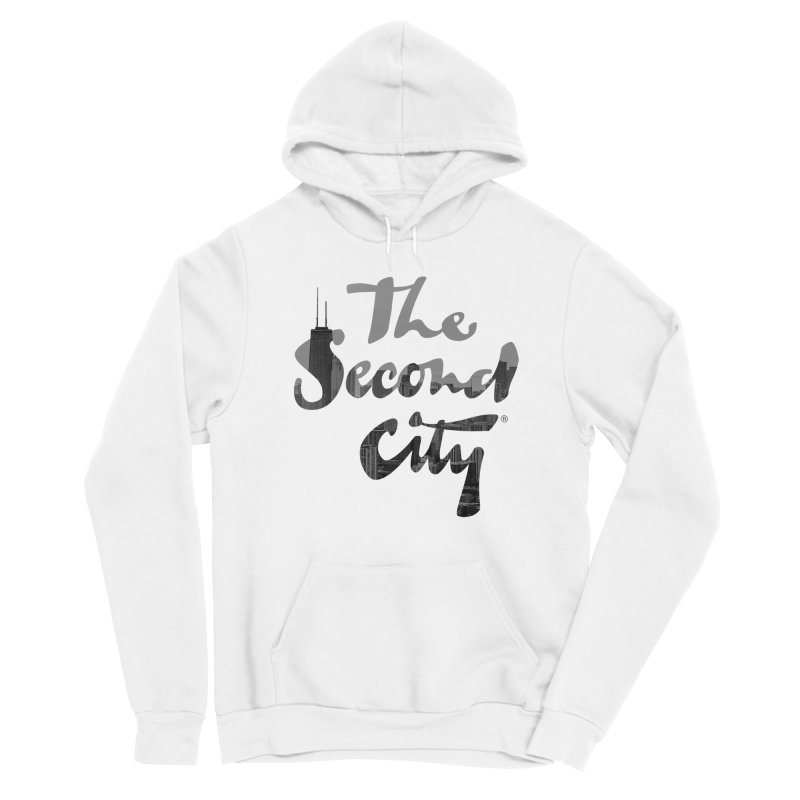 Stacked Skyline Men's Pullover Hoody by The Second City
