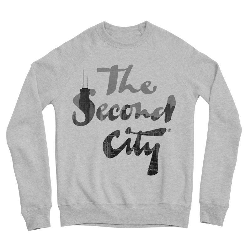 Stacked Skyline Men's Sponge Fleece Sweatshirt by The Second City