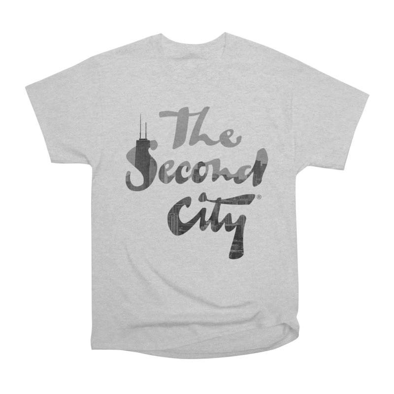 Stacked Skyline Men's Heavyweight T-Shirt by The Second City