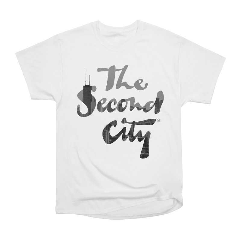 Stacked Skyline Women's Heavyweight Unisex T-Shirt by The Second City