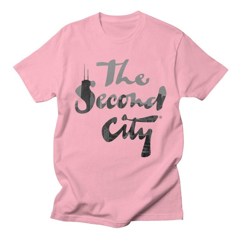 Stacked Skyline Men's Regular T-Shirt by The Second City