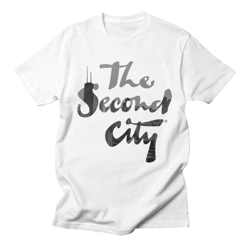 Stacked Skyline Men's Regular T-Shirt by secondcity's Artist Shop