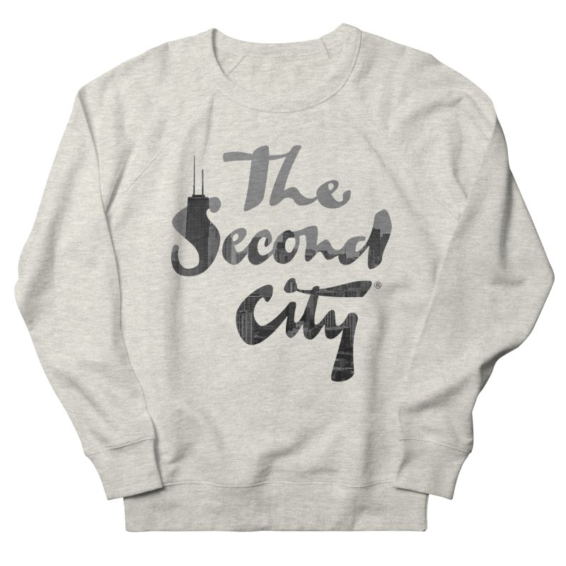 Stacked Skyline Women's French Terry Sweatshirt by secondcity's Artist Shop