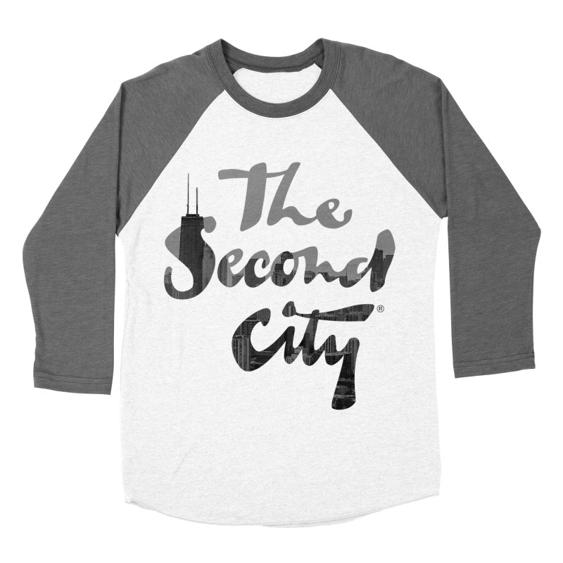 Stacked Skyline Men's Baseball Triblend Longsleeve T-Shirt by The Second City