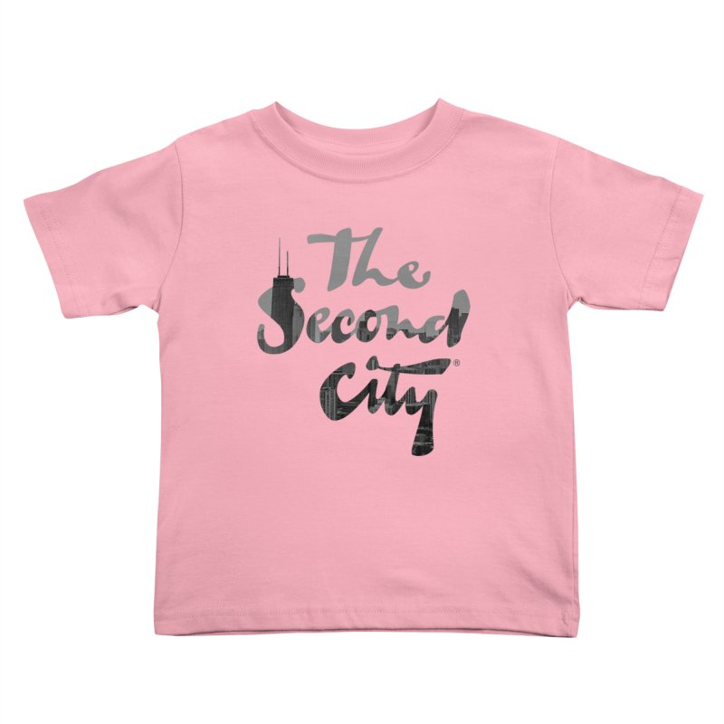 Stacked Skyline Kids Toddler T-Shirt by The Second City