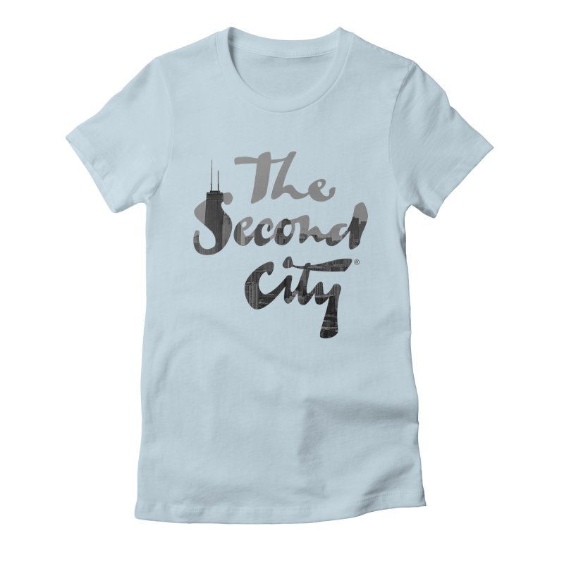 Stacked Skyline Women's T-Shirt by The Second City