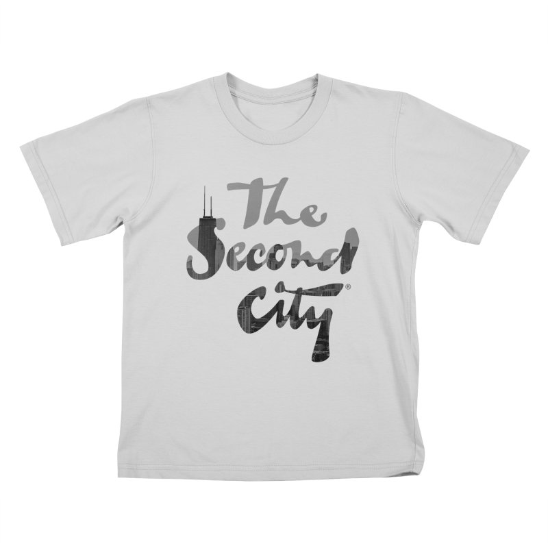 Stacked Skyline Kids T-Shirt by The Second City