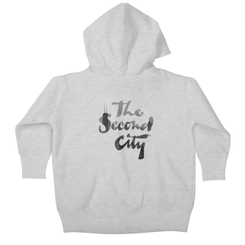 Stacked Skyline Kids Baby Zip-Up Hoody by The Second City