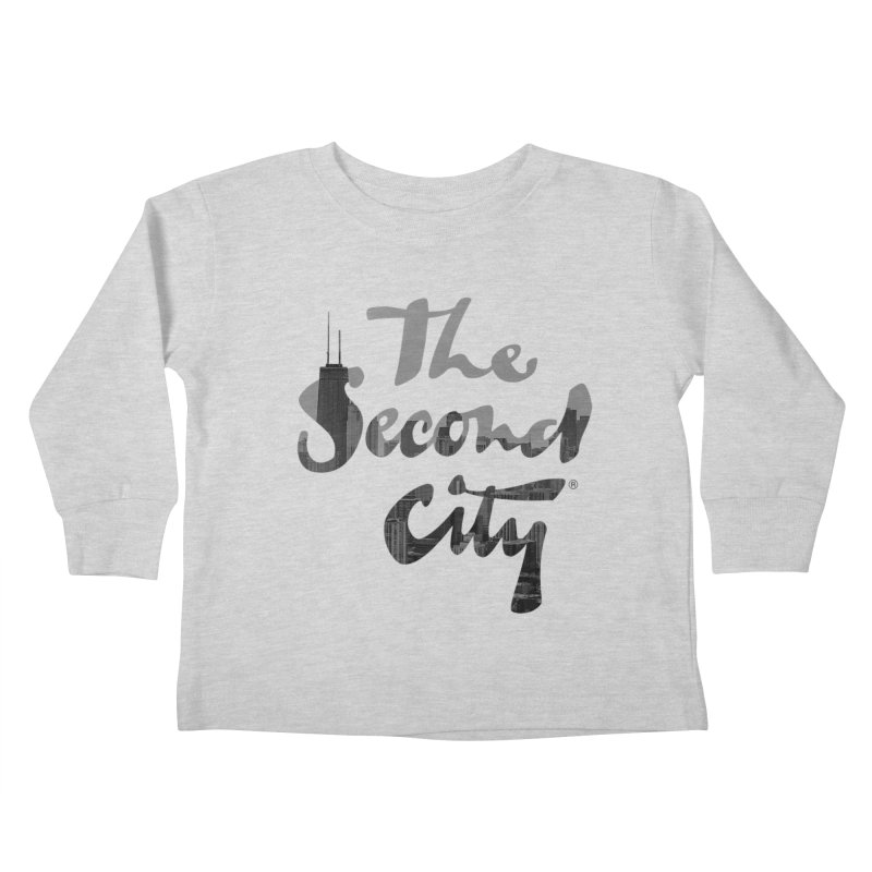 Stacked Skyline Kids Toddler Longsleeve T-Shirt by The Second City