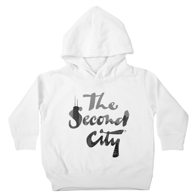 Stacked Skyline Kids Toddler Pullover Hoody by The Second City