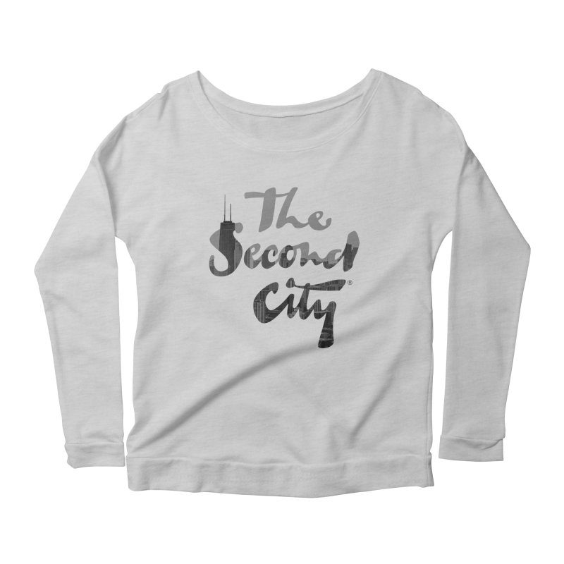 Stacked Skyline Women's Scoop Neck Longsleeve T-Shirt by The Second City