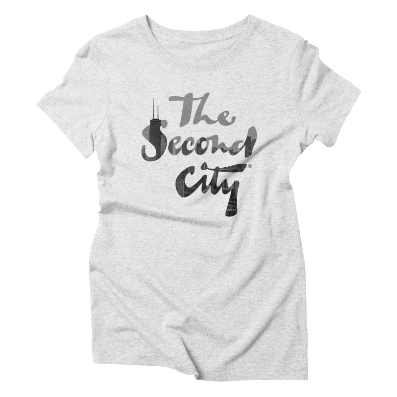 Stacked Skyline Women's Triblend T-Shirt by The Second City