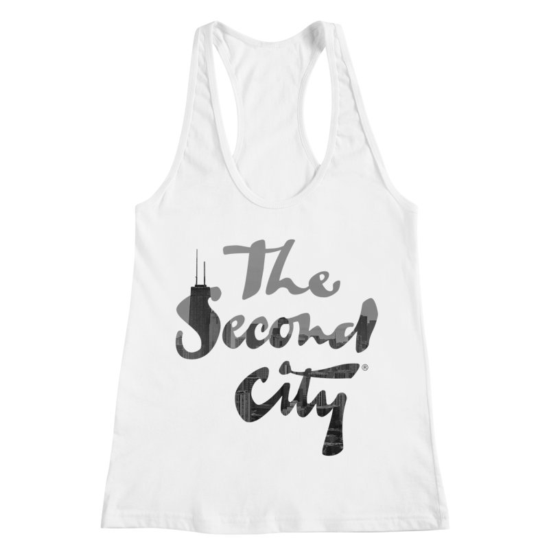 Stacked Skyline Women's Racerback Tank by The Second City