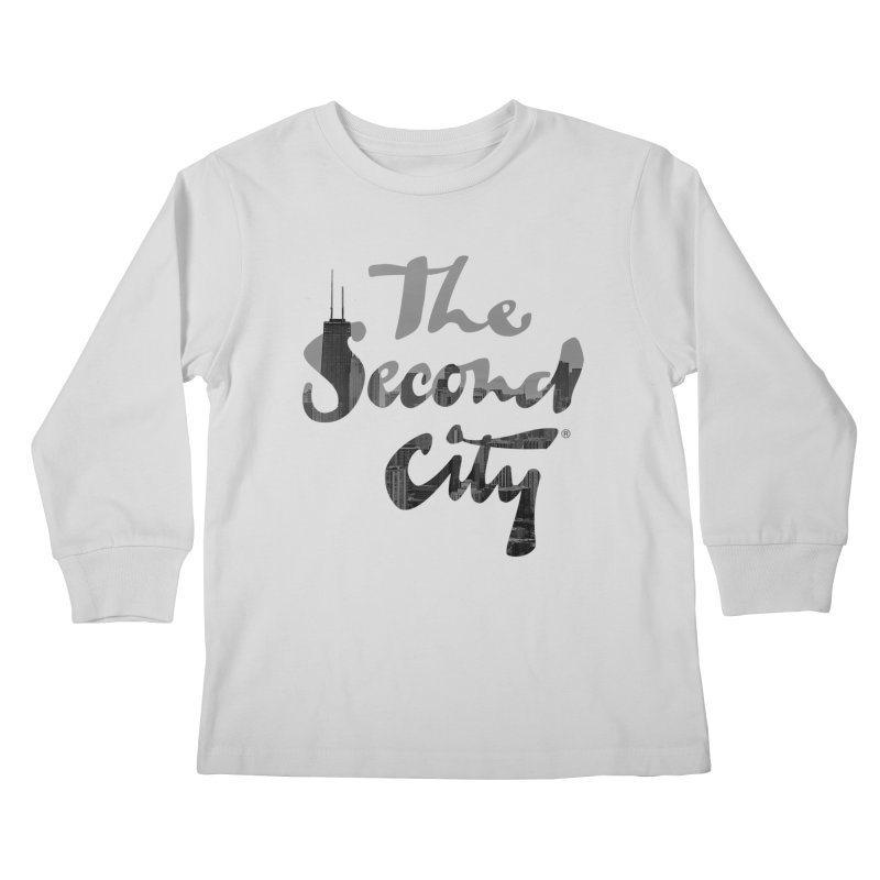 Stacked Skyline Kids Longsleeve T-Shirt by The Second City