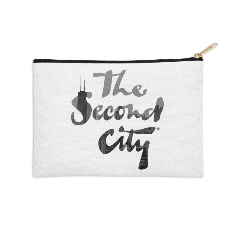 Stacked Skyline Accessories Zip Pouch by The Second City