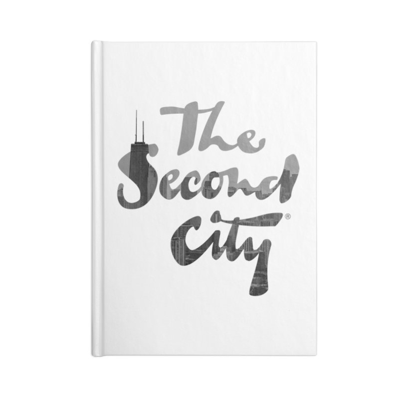 Stacked Skyline Accessories Notebook by secondcity's Artist Shop