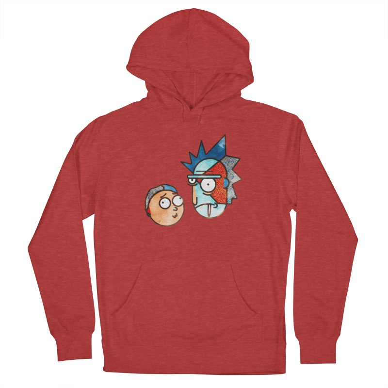 Rick and Morty Women's Pullover Hoody by Sedkialimam's Artist Shop