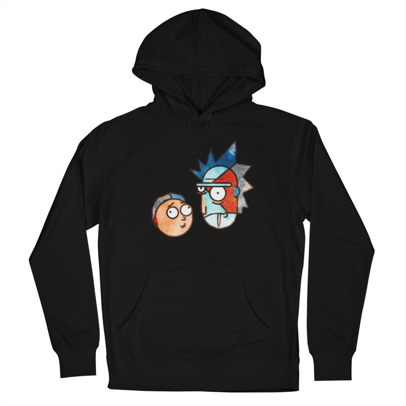 Rick and Morty Men's Pullover Hoody by Sedkialimam's Artist Shop