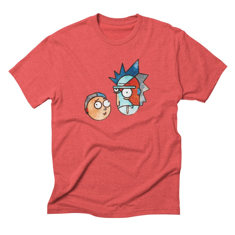 Rick and Morty Men's Triblend T-Shirt by Sedkialimam's Artist Shop