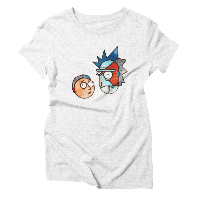 Rick and Morty Women's Triblend T-shirt by Sedkialimam's Artist Shop