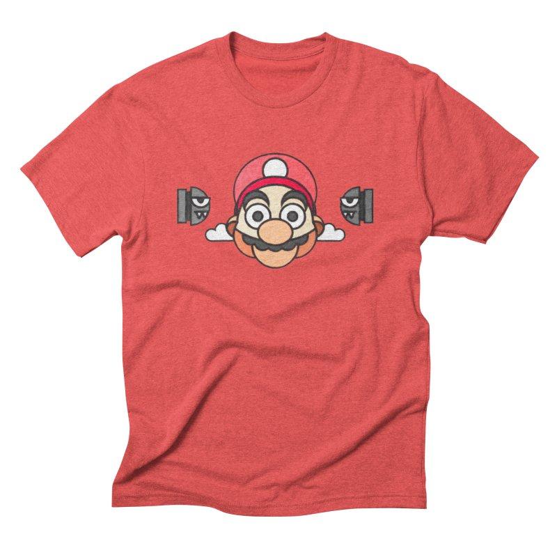 Super Mario Men's Triblend T-shirt by Sedkialimam's Artist Shop