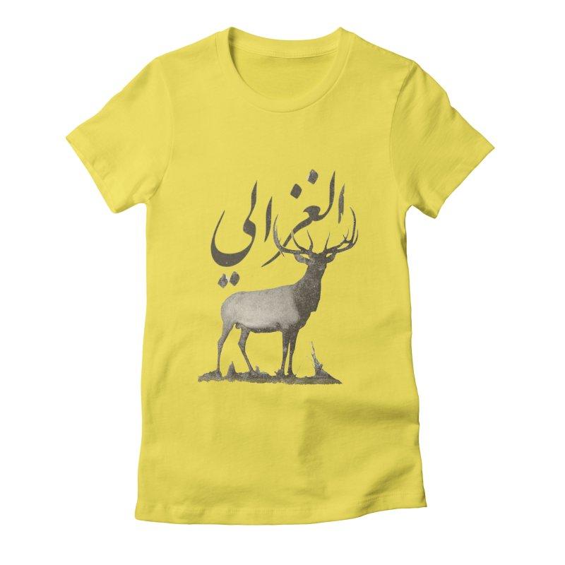 Ghazali Women's Fitted T-Shirt by Sedkialimam's Artist Shop