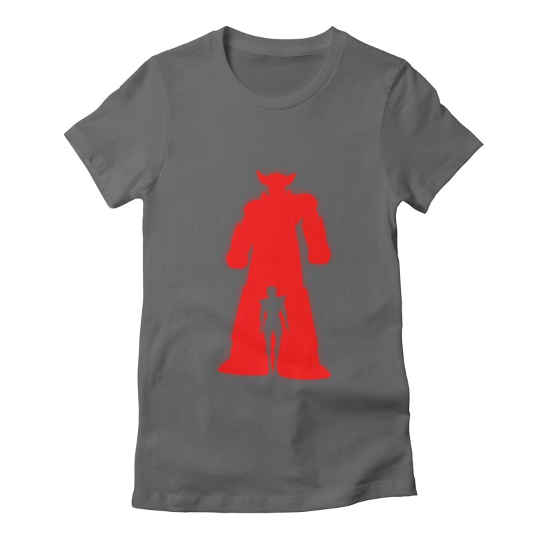Grendizer Women's Fitted T-Shirt by Sedkialimam's Artist Shop