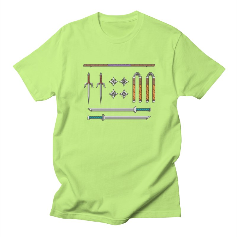 Teenage Mutant Ninja Turtles Men's T-shirt by Sedkialimam's Artist Shop