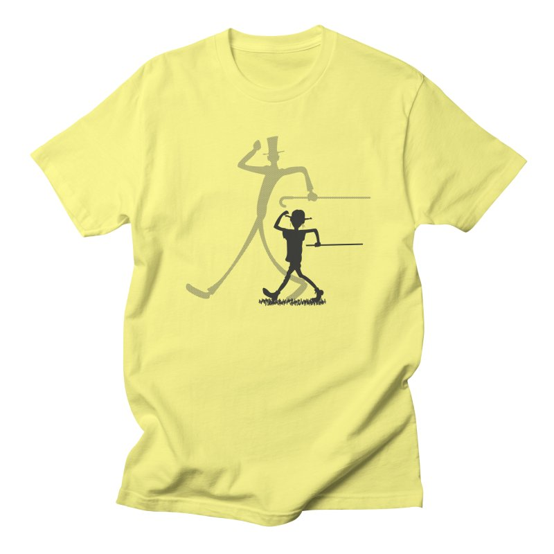 Daddy Long Legs in Men's T-Shirt Lemon by Sedkialimam's Artist Shop