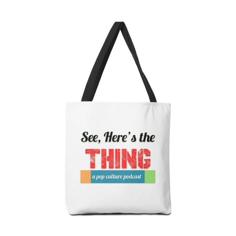 See, Here's the Thing Logo Accessories Bag by See, Here's the Thing Merch Shop