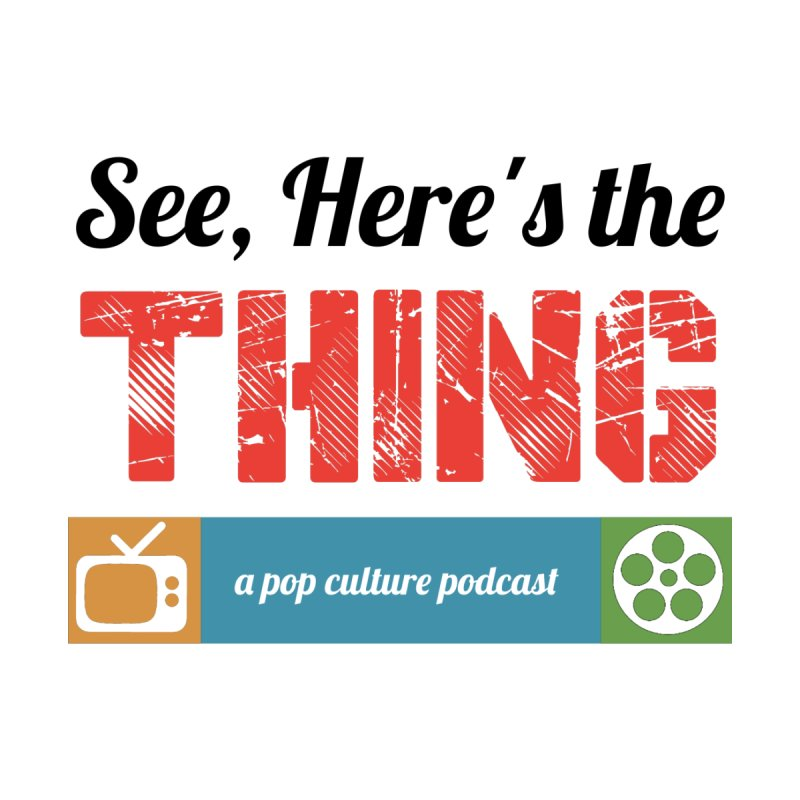 See, Here's the Thing Logo Women's Fitted T-Shirt by See, Here's the Thing Merch Shop