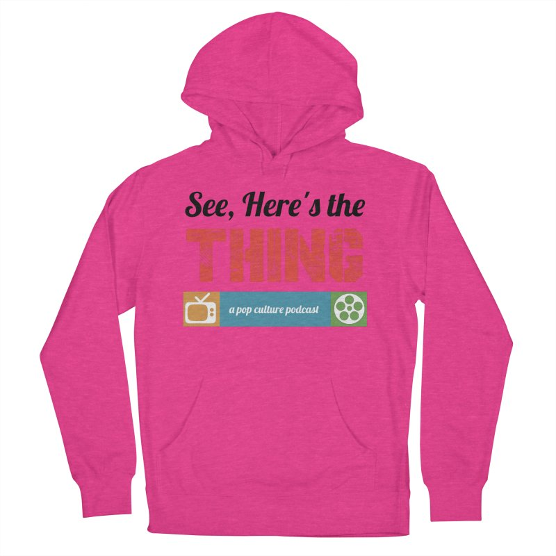 See, Here's the Thing Logo Men's Pullover Hoody by See, Here's the Thing Merch Shop