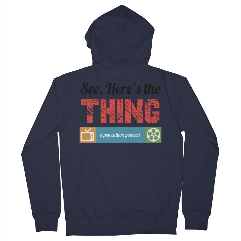 See, Here's the Thing Logo Men's Zip-Up Hoody by See, Here's the Thing Merch Shop