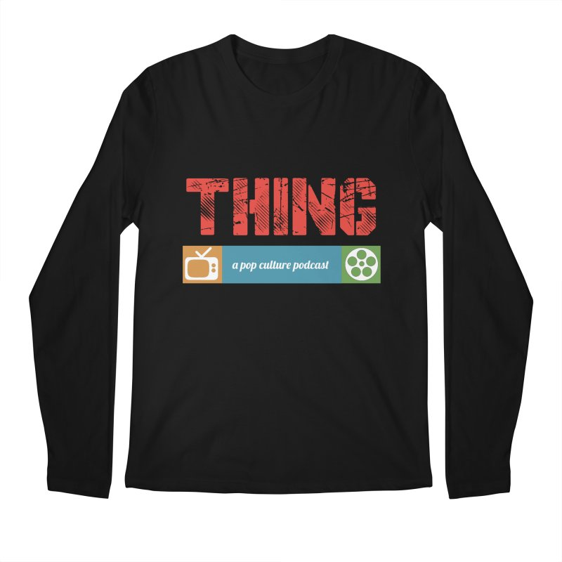 See, Here's the Thing Logo Men's Longsleeve T-Shirt by See, Here's the Thing Merch Shop