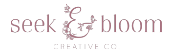 Seek & Bloom Creative Co Logo