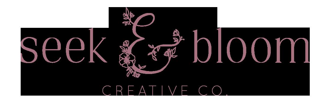 seekandbloom's Artist Shop Logo