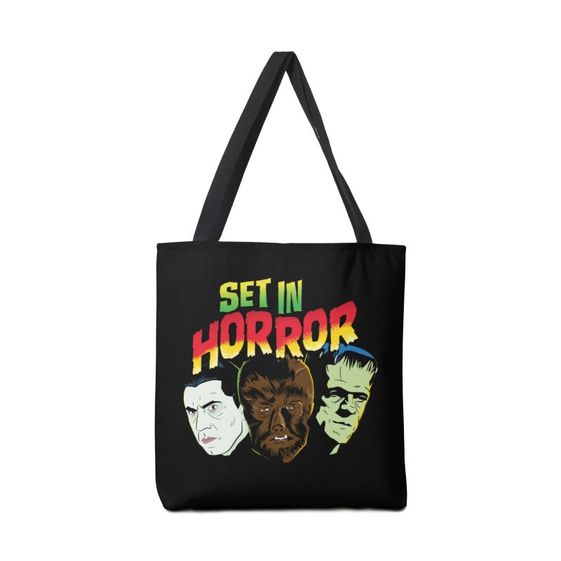 Set in Horror 2019 Logo Accessories Tote Bag Bag by See Monsters's Artist Shop