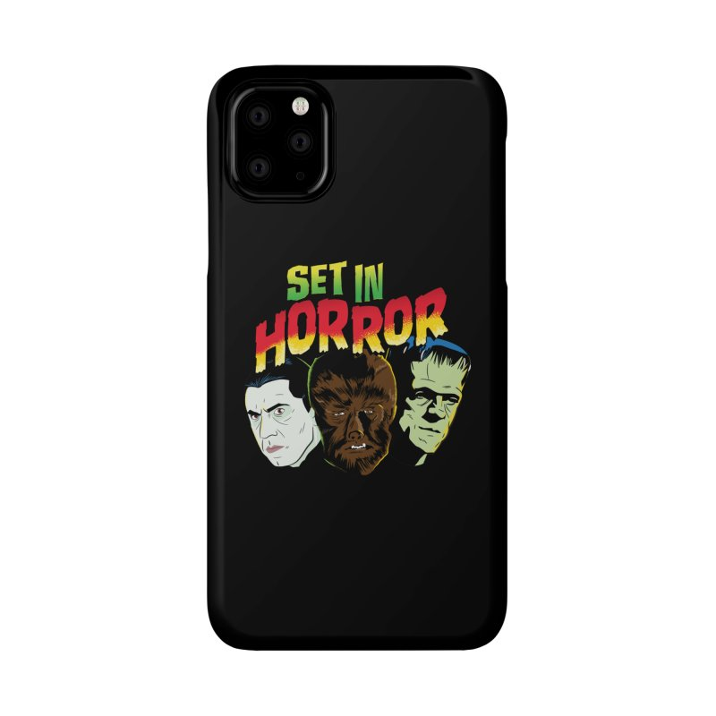 Set in Horror 2019 Logo Accessories Phone Case by See Monsters's Artist Shop
