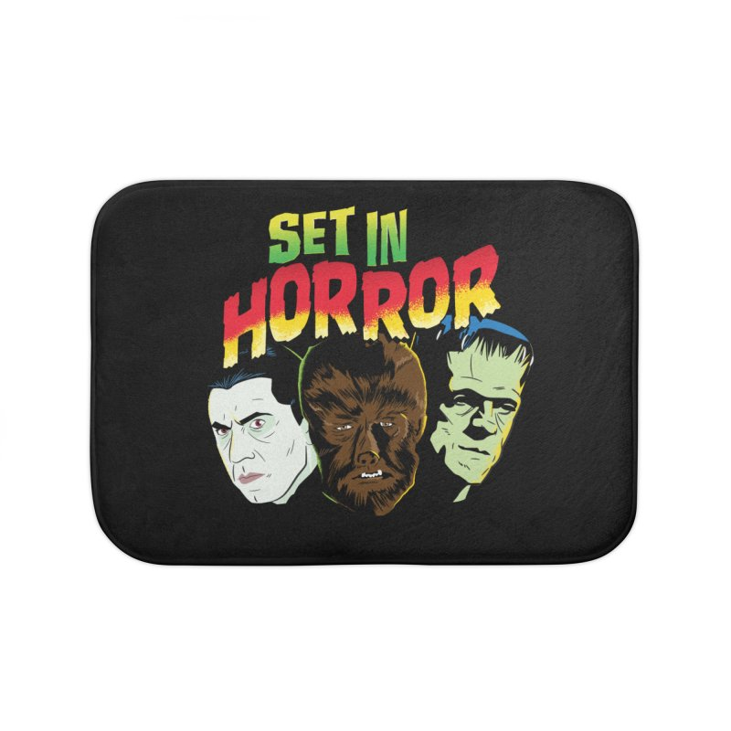Set in Horror 2019 Logo Home Bath Mat by See Monsters's Artist Shop