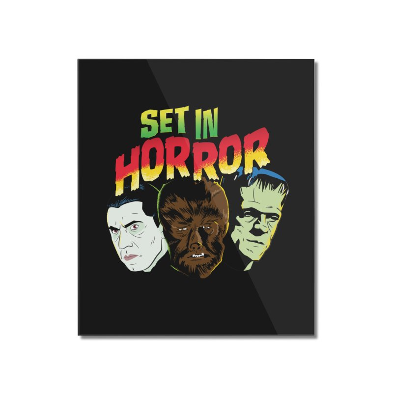 Set in Horror 2019 Logo Home Mounted Acrylic Print by See Monsters's Artist Shop