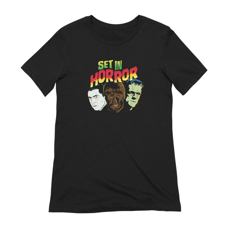 Set in Horror 2019 Logo Women's Extra Soft T-Shirt by See Monsters's Artist Shop