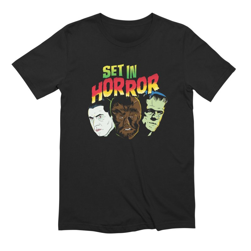 Set in Horror 2019 Logo Men's Extra Soft T-Shirt by See Monsters's Artist Shop