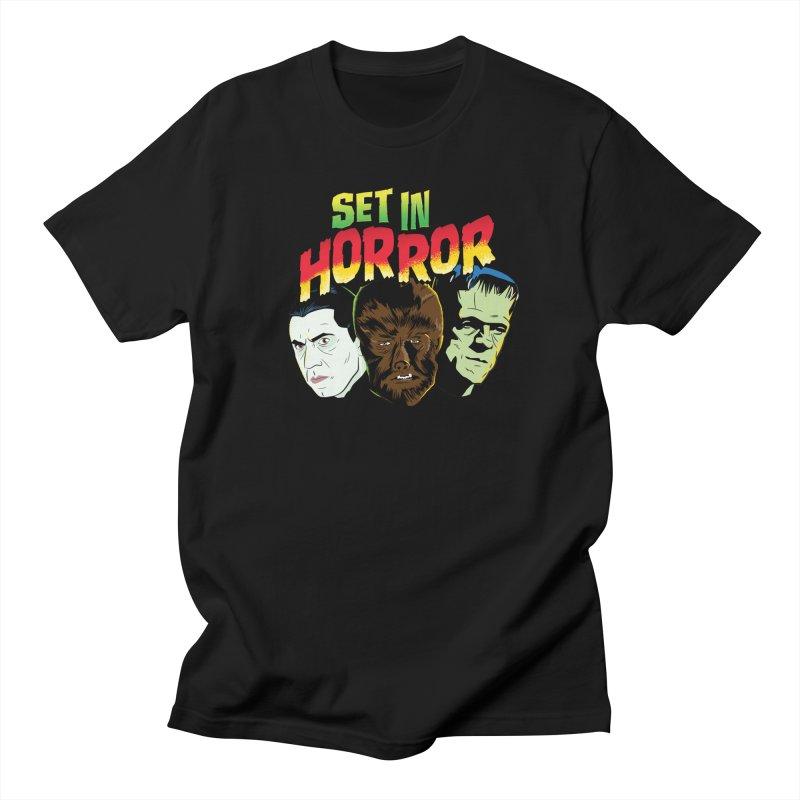 Set in Horror 2019 Logo Men's Regular T-Shirt by See Monsters's Artist Shop