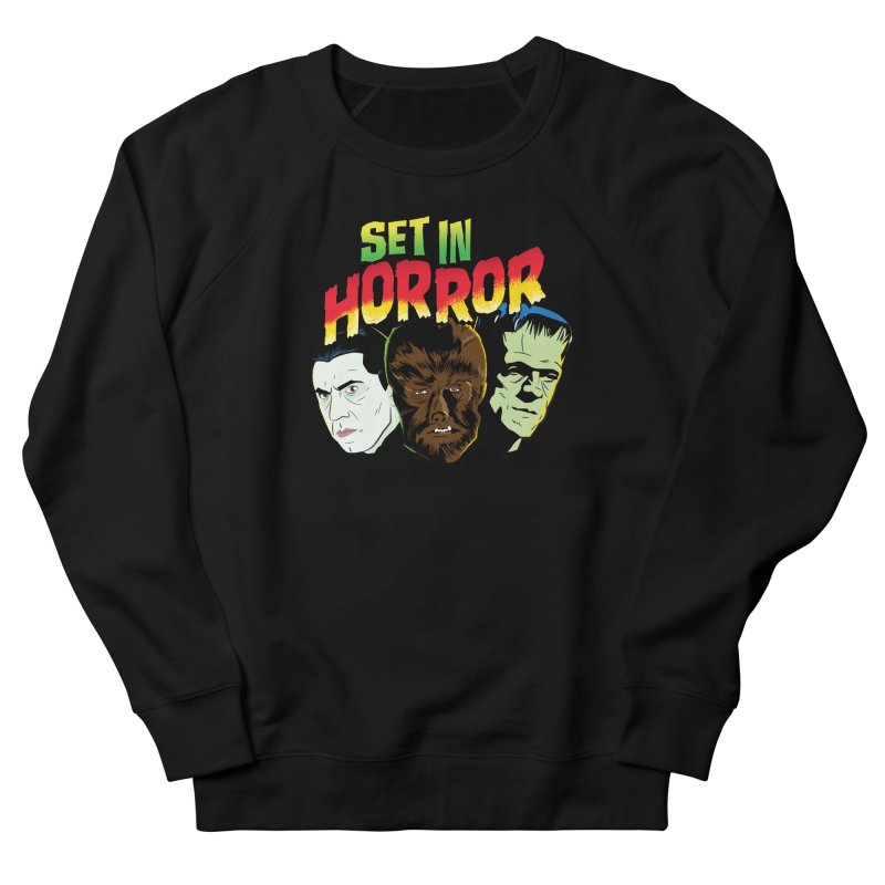 Set in Horror 2019 Logo Men's French Terry Sweatshirt by See Monsters's Artist Shop