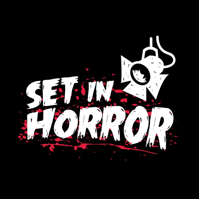 Set in Horror - Official Podcast T-Shirt Men's Sweatshirt by See Monsters's Artist Shop