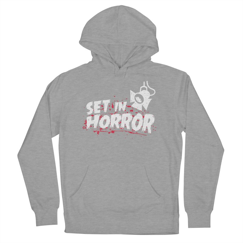 Set in Horror - Official Podcast T-Shirt Men's French Terry Pullover Hoody by See Monsters's Artist Shop