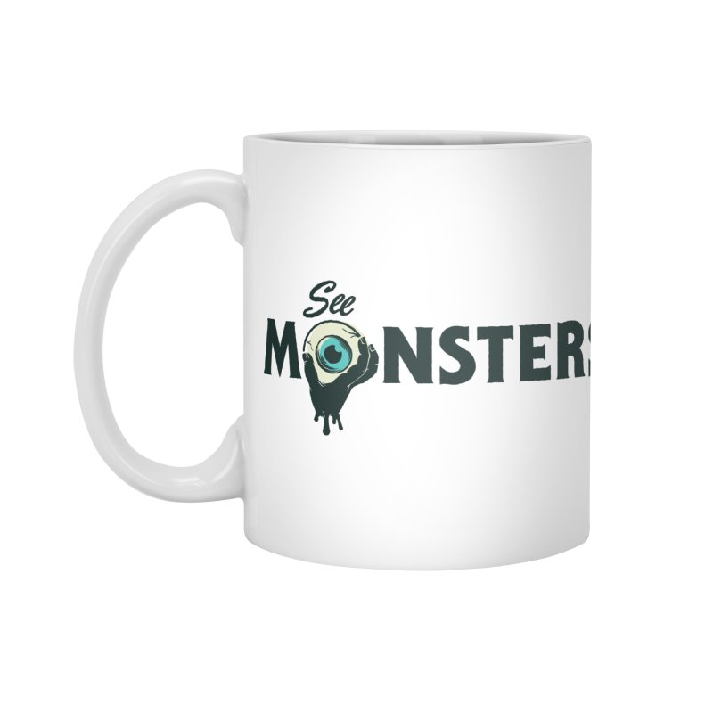 See Monsters Main Logo Accessories Mug by See Monsters's Artist Shop