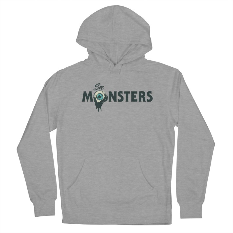 See Monsters Main Logo Men's French Terry Pullover Hoody by See Monsters's Artist Shop