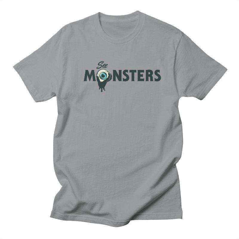 See Monsters Main Logo Men's Regular T-Shirt by See Monsters's Artist Shop
