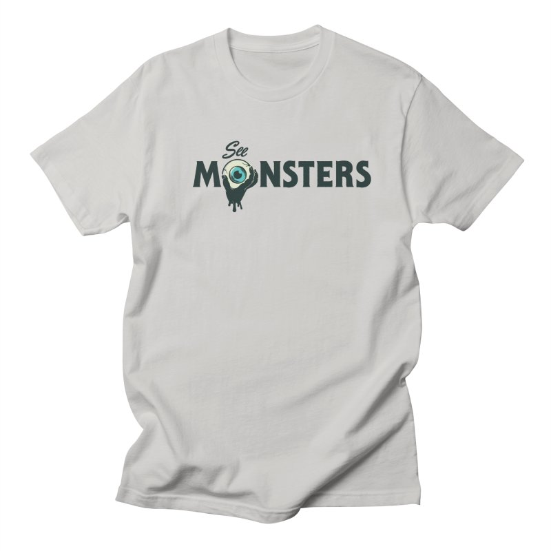 See Monsters Main Logo Men's Regular T-Shirt by See Monsters's Artist Shop